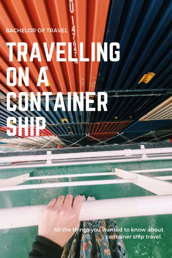 things you should know travel on a container ship