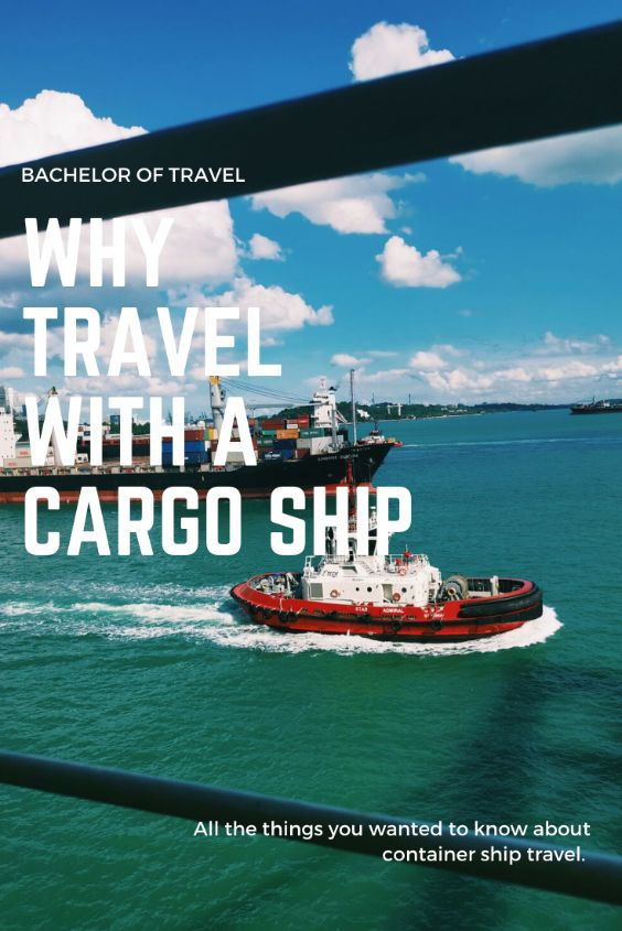 why travel on a container ship