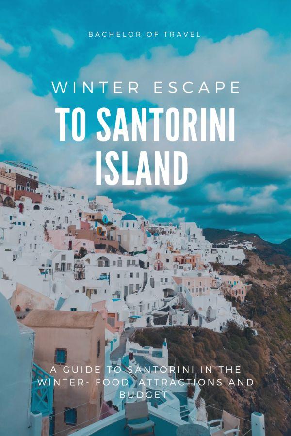 Winter Santorini